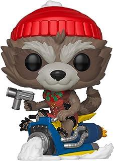Funko Pop! Marvel: Holiday Rocket, Action Figure - 43334