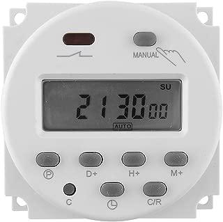 AYWS デジタルプログラムタイマー 12V 16A Programmable Timer Switch  LCDデジタル顕示