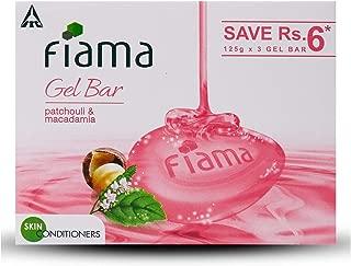Fiama Di Wills Patchouli & Macadamia Soft Glowing Skin Gel Bar, 125g (Pack Of 3)