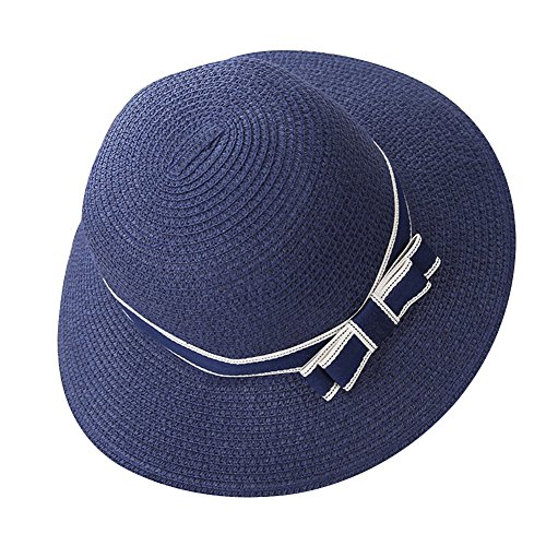 Gladiolus Mujer/Chicas Sombrero de Playa/Sombrero para el Sol/Sombrero de Paja/Verano Sombrero Pamela