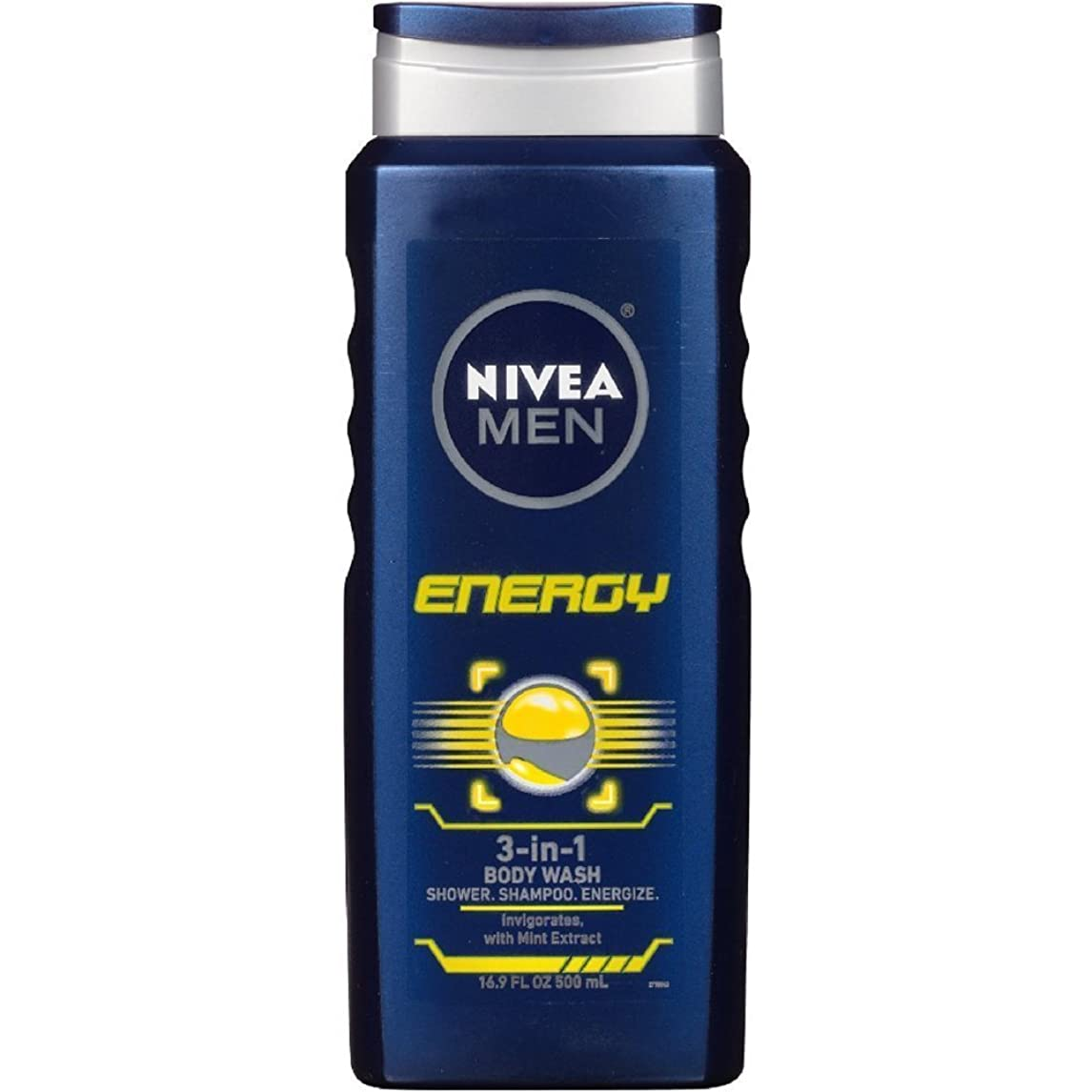 文明バランス賭けNIVEA MENS BODY WASH ENERGY 16.9 OZ by Nivea Men
