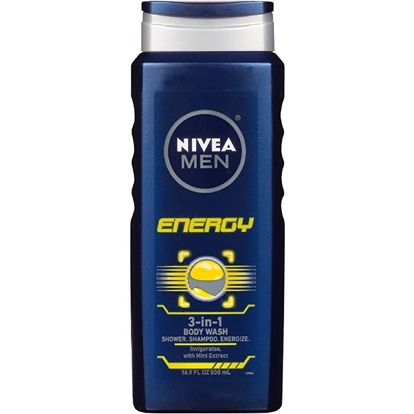コインピルファー遺伝子NIVEA MENS BODY WASH ENERGY 16.9 OZ by Nivea Men