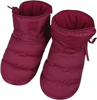 Zapatillas Interior casa Pantuflas terciopelo Zapatos Antideslizante Impermeable caliente calcetines suelo Epais suave con...