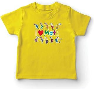 comprar comparacion lepni.me Camiseta para Niño/Niña Amo Las matemáticas, el Regalo Educativo de Regreso a la Escuela o la graduación