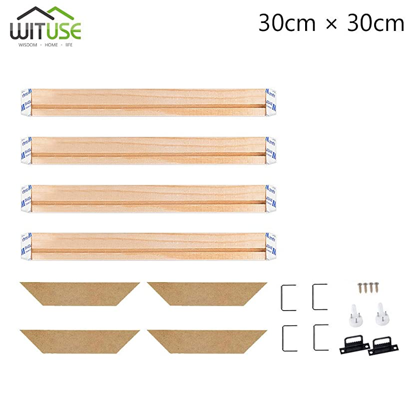 WITUSE Wood Stretcher Bars Painting Canvas Wooden Frame for Gallery Wrap Oil Painting-12