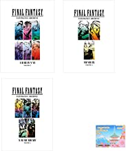 Final Fantasy Ultimania Archive Volume 1 - 3 Collection With Original Sticky Notes