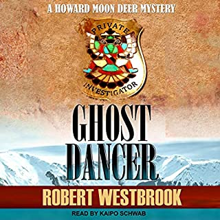 Ghost Dancer audiobook cover art