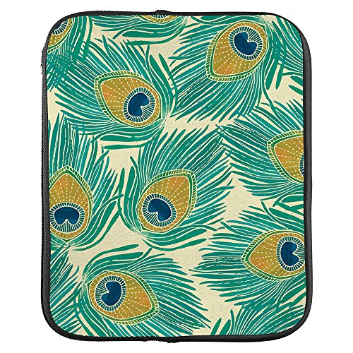 Erin Condren Medium Planner Folio - Peacock, Perfect Organizer for Documents, Planners, and Notebooks. Portfolio Case Holder with Zipper and Inner Pouch