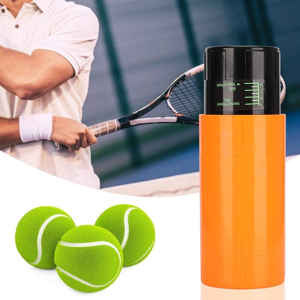 Kuuleyn Lata de Pelota de Tenis, Caja de Pelota de Tenis Mantenimiento de presión Duradero Reparación de contenedor de Lata de Almacenamiento Accesorios Deportivos para Uso de los Amantes del Tenis