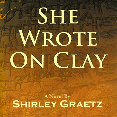 She Wrote on Clay audiobook cover art