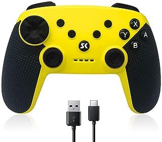 スイッチ コントローラー Switch コントローラー 無線 HD振動 連射機能 ジャイロセンサー Bluetooth接続 任天堂 スイッチの全てシステムに対応