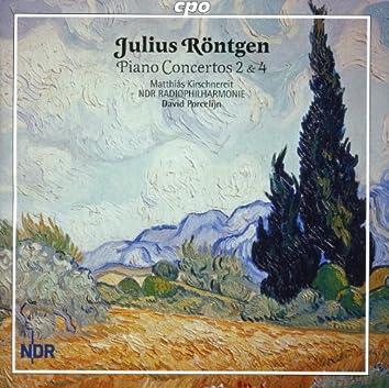 Rontgen: Piano Concertos 2 & 4