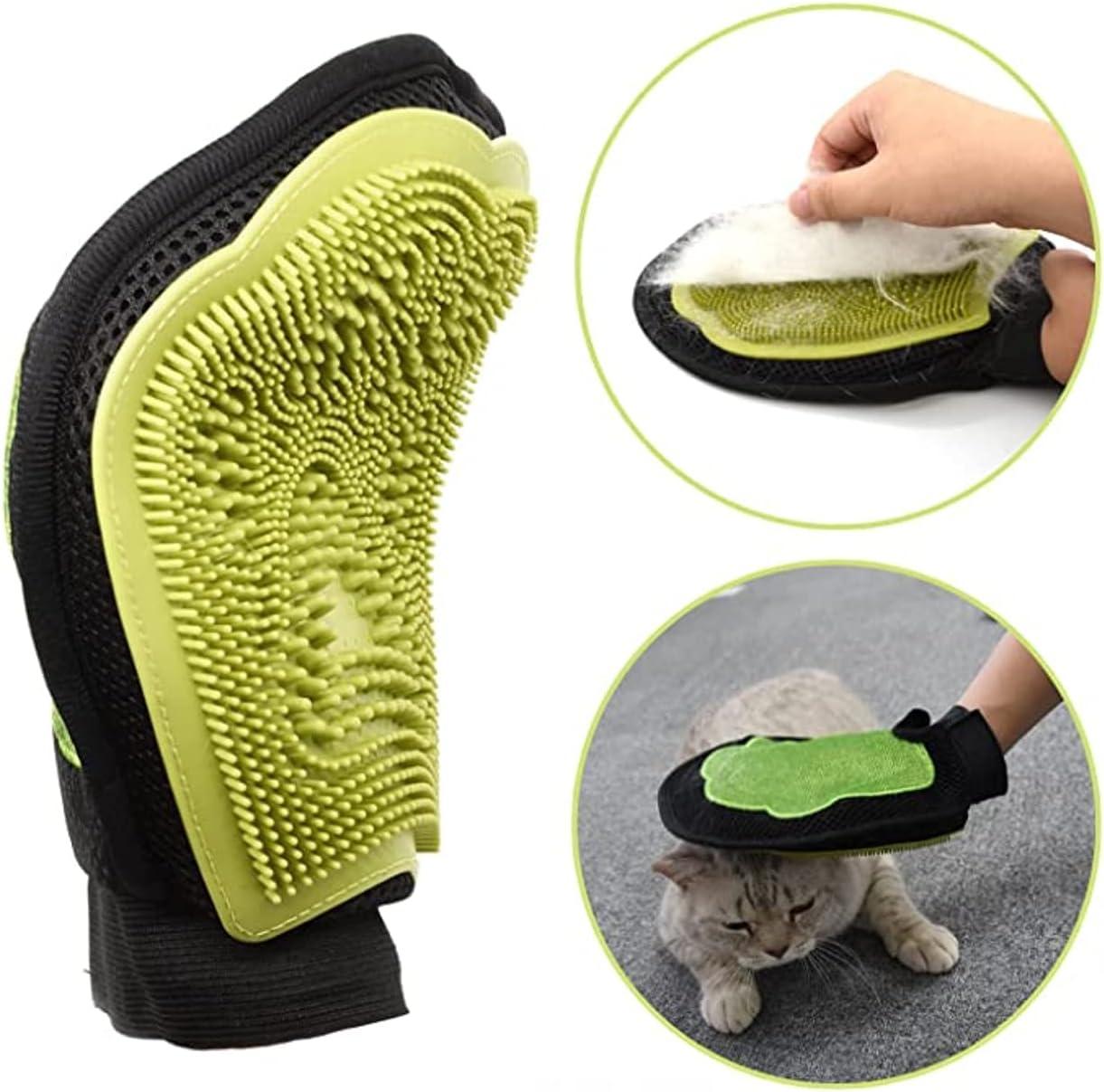 cepillo guante para gatos