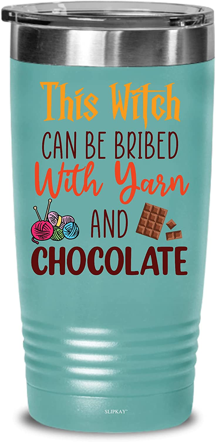 Halloween This Witch Can Be Bribed Tumbler G 20oz Under blast sales Max 90% OFF Chocolate With