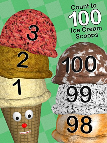 Count to 100 Ice Cream Scoops