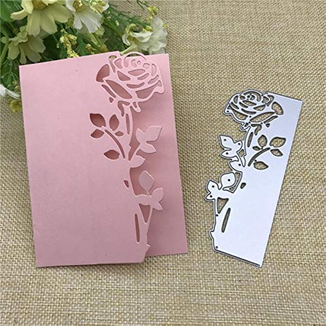 4.6x1.8inch Rose 2019 New Die Cuts Metal Cutting Die Craft Die for Scrapbooking Card Making