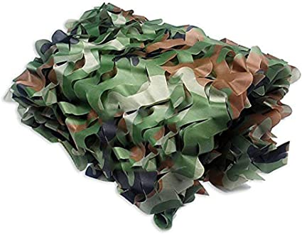 Camouflage Netting Blinds Mesh for Party Garden Hunting Shooting Sunscreen Nets