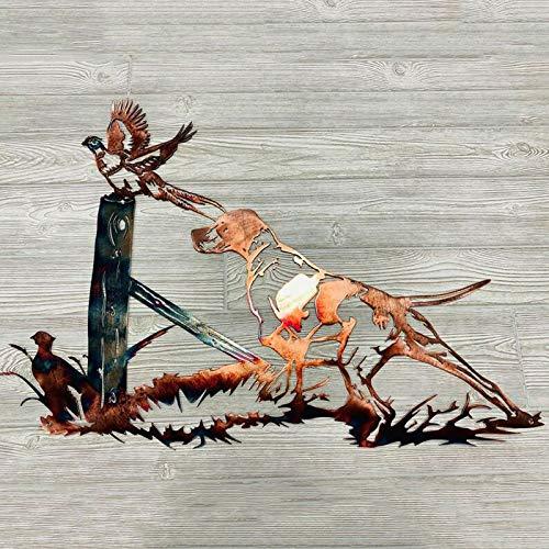 Fly-Dream - Adesivo da parete a forma di animale domestico, per caccia e pesca alla trota