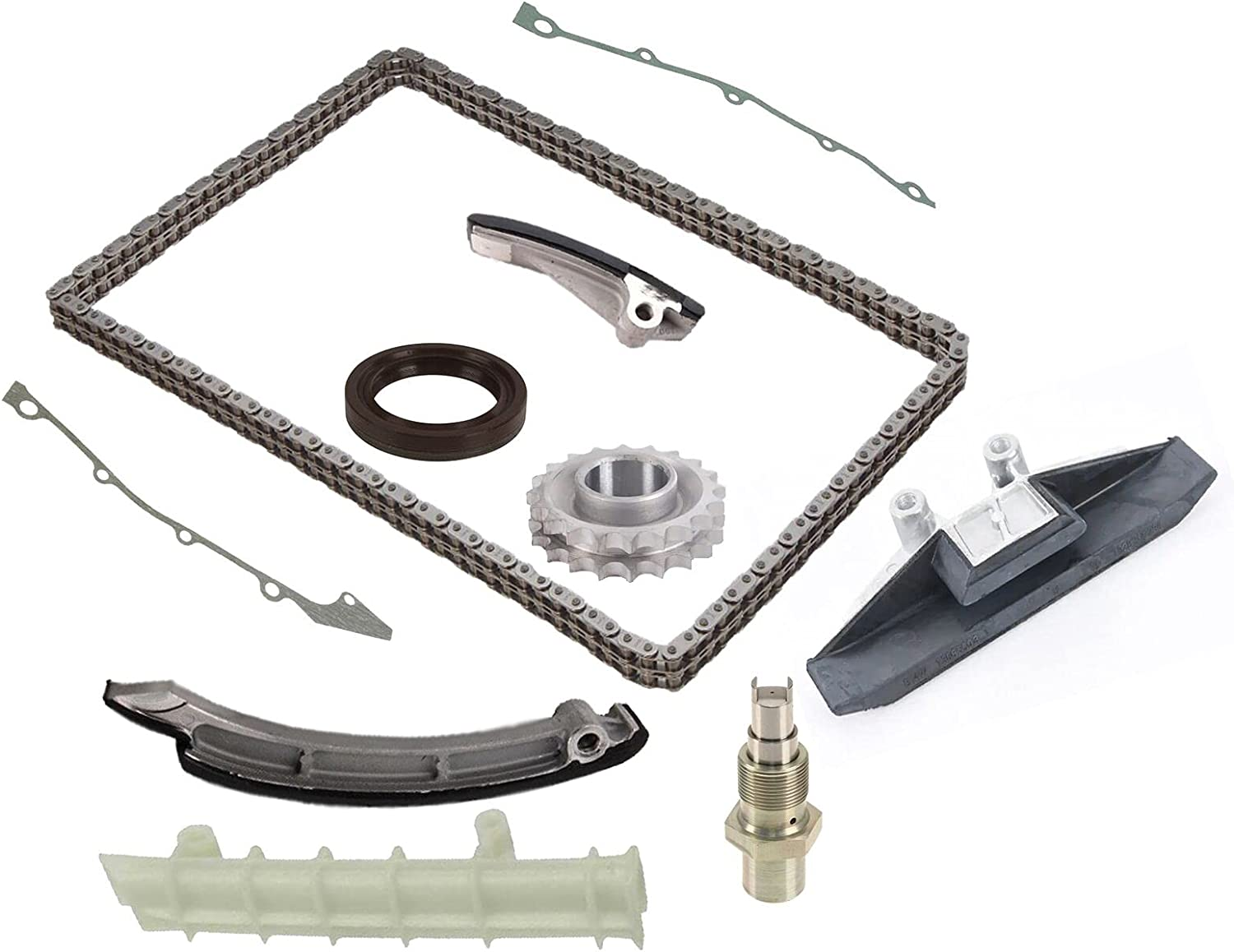 Timing Guides Tensioner and Dedication Chain kit Ranking TOP17 BMW M5 with Compatible E34