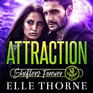 Attraction: Shifters Forever Worlds audiobook cover art