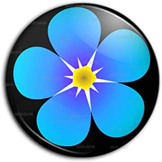 Neuf Ma/çonnique Fleur Myosotis Badge /Épinglette En /Émail exclusivit/é Emblems-Gifts