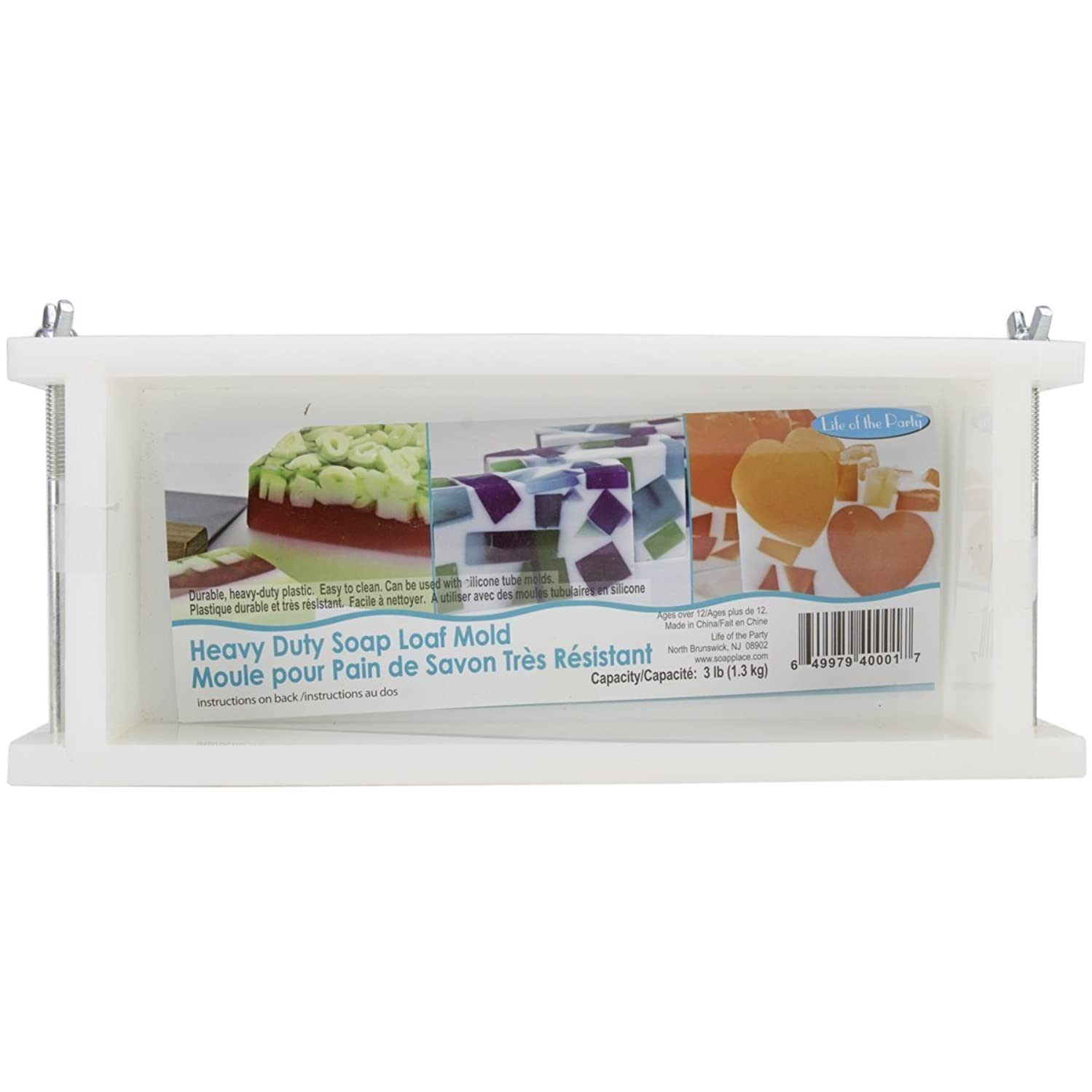 Life of the Party Heavy Duty Soap Mold Loaf