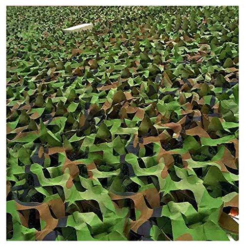 Außen Schatten Dschungel Tarnnetz, Außensonnenschutz Net Fotografie Vogelbeobachtung Innendekoration Net Regenschirm Camping Militär-Jagd-Schießen versteckte Partei for Kinder Der (Größe: 6x8m) ZHANGK
