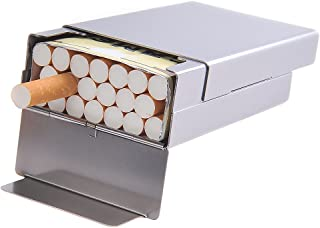 Quantum Abacus Cigarette Case made of aluminium and plastic, holds 20 cigarettes/a complete packet (soft pack), Mod. 427-06 (US)