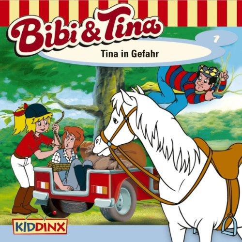 Tina in Gefahr audiobook cover art