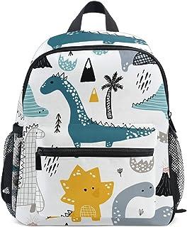 Mochila para niños Dino Scandinavian Style Kindergarten Preescolar Bolsa para niñas de niños pequeños