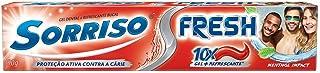 Creme Dental Fresh Menthol Gel 90 g, Sorriso