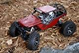 JK-WORKS New Upgrade Design Axial Wraith Aluminum Body Panel Kit (Anodizing - Red Hard Color)