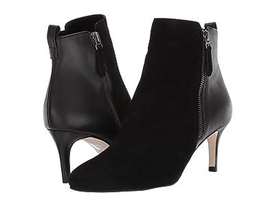 Pelle Moda Yesnia (Black Suede/Calf Leather) Women