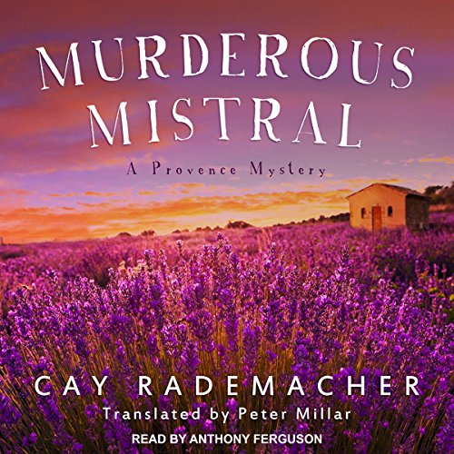 Murderous Mistral audiobook cover art