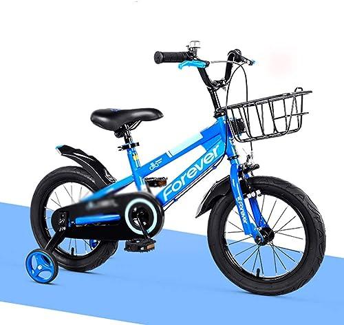 salida El nuevo nuevo nuevo azul 12 pulgadas   14 pulgadas   16 pulgadas para Niños Bicicleta para niña Niño para bicicleta Niño para Niños Coche eléctrico estático Electricidad libre de polvo Pintura no tóxica Projoecci  ahorra hasta un 80%
