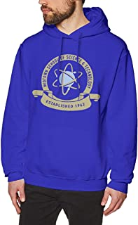 Midtown School of Science and Technology Men's Hoodie Fashion Pullover Sweatshirt Blue