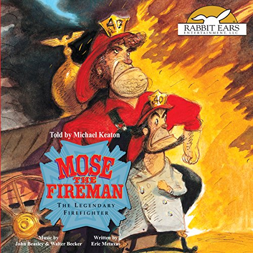 Mose the Fireman audiobook cover art
