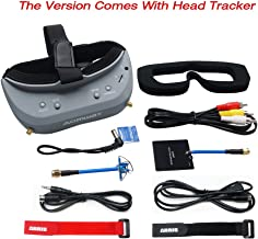 Aomway Commander V1 Diversity 3D 40CH 5.8G FPV Goggles w/DVR Support HDMI and Head Tracker (Free ARRIS Battery Straps)