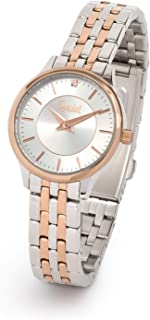 Speidel Ladies' Stainless Steel Watch with Swarovski Crystal on Silver Dial with Silver Tone or Rose Gold Bracelet