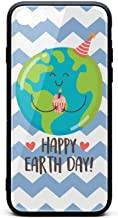 BoDu iPhone 7 case iPhone 8 Case Cute Hand Drawn Illustration Earth Planet Happy TPU Protective Shockproof Back Cover for iPhone 7 iPhone 8