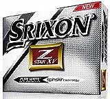 Srixon Z Star XV Bolas 4 Capas de Golf, Unisex Adulto, Blanco, Talla Única