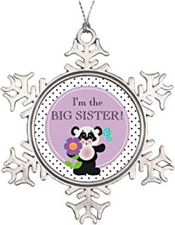 Ai Vion Xmas Trees Decorated Panda Bear Baby Shower Party Family Member Stained Glass Snowflake Ornaments