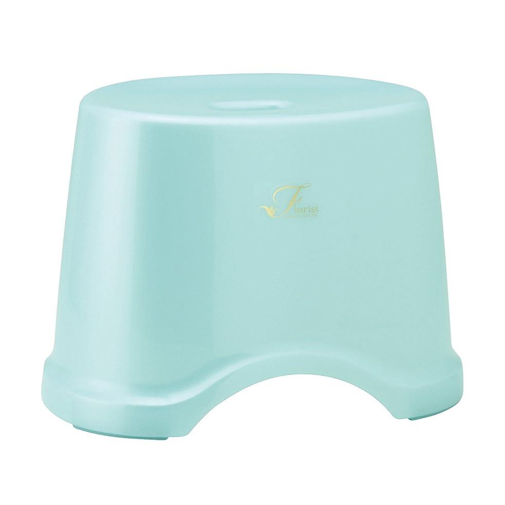 奇跡的なハック爵レック Florist 風呂いす 高さ25cm ブルー (風呂椅子 バスチェア) B-962