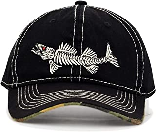 FGSS Fish-Bone Embroidery Cotton Men-Baseball-Cap - Trucker Hat Adjustable  Strapback 301b18d80459