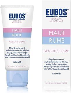 Eubos Haut Ruhe Gesichtscreme 1x30ml medizinische Gesichtspflege für die zarte Kinder- und Baby-Haut – Hergestellt in Deutschland