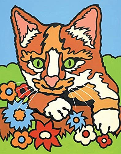Reeves Painting by Numbers Mini Kitten by Reeves