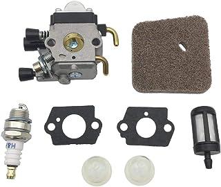 Tubayia – Motosierra cortacésped Carburetor Kit para Stihl FS45 FS46 FS46C FS55 FS55R FS35 FS55T