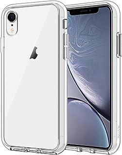 JETech Etui Kompatybilne z iPhone XR, Odporna na Wstrząsy Przezroczysta Osłona Zderzaka, Przezroczysta HD