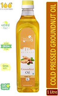 Mesmara Groundnut Oil - Cold Pressed(Virgin, Kachi Ghani/Wooden Chekku) - 1000ml