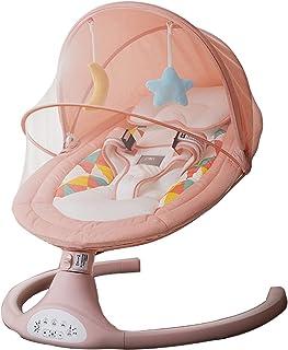 Sedia Altalena Comfort for Neonato Neonato con Musica Rilassante Grigio Letto Culla Automatica Regali per bambini e bambine da 0 a 32 mesi Sdraietta neonati Baby Rockers elettrici e buttafuori